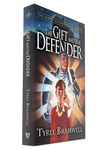 The Gift and the Defender (Lumen Legends Book 1) by Tyrel Bramwell